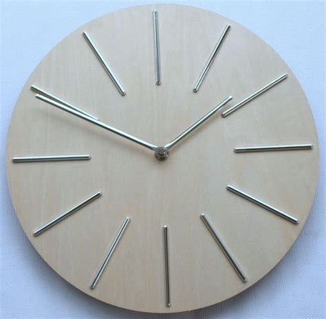 modern silver clock wall clocks for kitchen modern