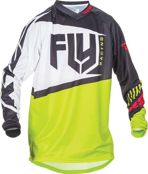motocross riding gear 2017 fly racing f 16 jersey mx atv motocross off road