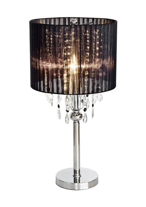 Shaded Chandelier L By Made With Love Designs Ltd Black Chandelier Table L