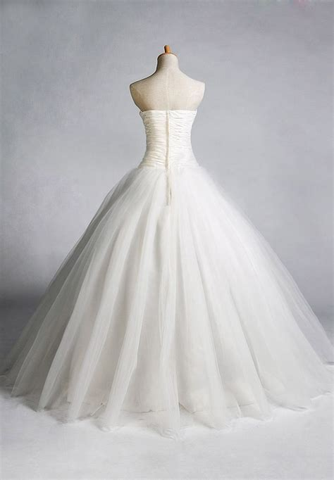 Simple Gown Pattern | easy tulle skirt pattern gt bride gt tulle strapless