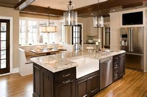 Kitchen Island In Breakfast Nook Small Breakfast Nook With Storage Cabinets Dining Room