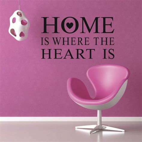 little hearts wall stickers wall decals removable home home is where heart is quote wall stickers pvc removable