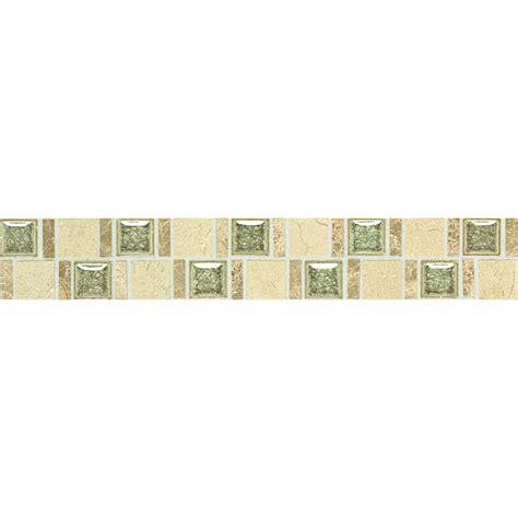 home depot decorative tile daltile stone decorative accents crackle fantasy 1 7 8 in