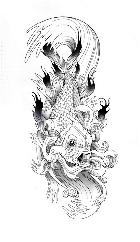 koi tatoo by ancorgil on deviantart