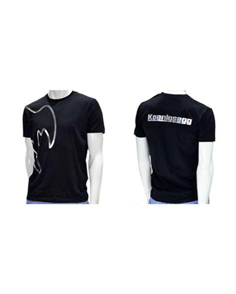 Koenigsegg T Shirt Zwart Ghost Racing Fashion