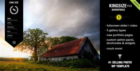 themeforest photography king size fullscreen background wordpress theme
