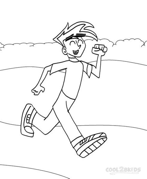 Printable Danny Phantom Coloring Pages For Kids Cool2bkids Danny Phantom Coloring Pages
