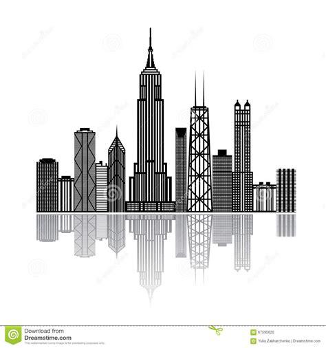 wallpaper black and white buildings black building silhouettes on white background stock