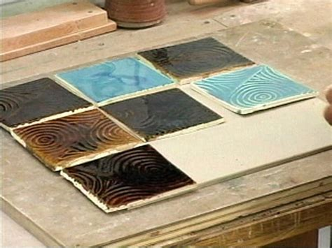 How To Make Handmade Tiles - how to make an abstract ceramic trivet hgtv