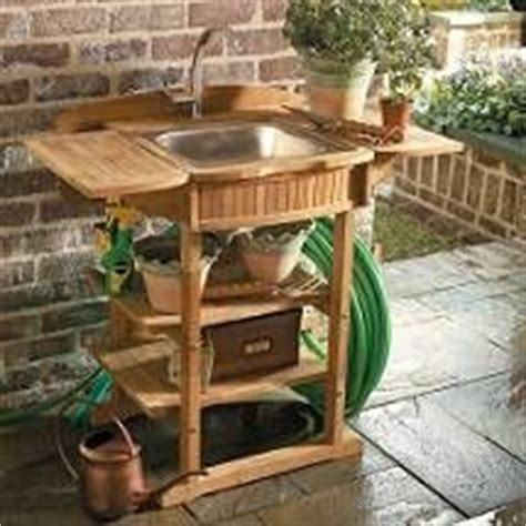 Outdoor Sink No Plumbing Required by 17 Best Ideas About Outdoor Sinks On Outdoor