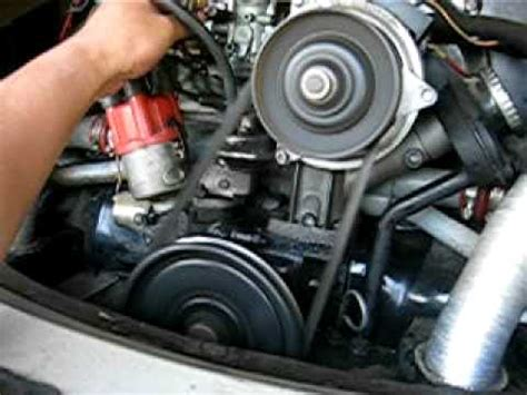 how cars engines work 1987 volkswagen type 2 lane departure warning vw bus t2 engine working youtube