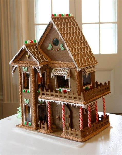 The Gingerbread House In The How To Make A Gingerbread House Tips Recipes Crosby