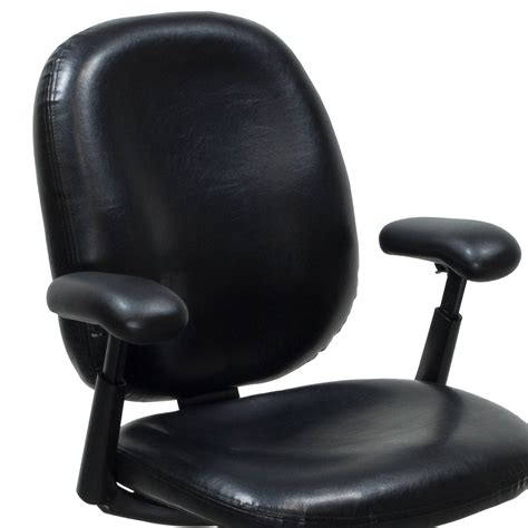 Herman Miller Chairs by Herman Miller Ergon Used Size B Leather Task Chair Black