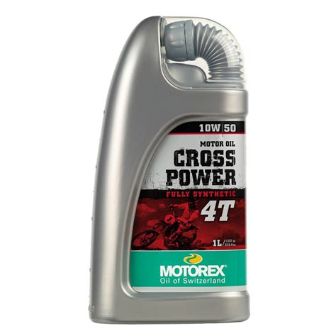 Cross A75aa75g Baterai Alto Power lubricante motorex cross power 4t 10w 50