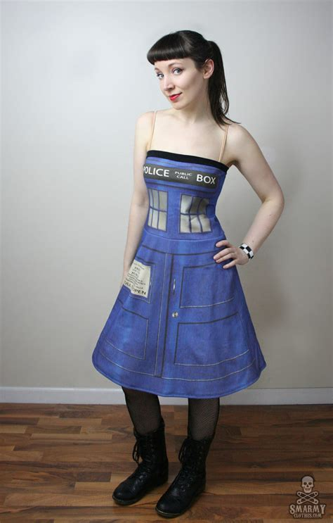 dr who tardis box dress by smarmy clothes on
