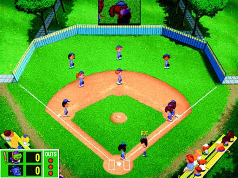 backyard sports video games backyard baseball from cdaccess com