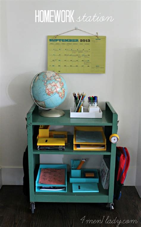 diy station top 10 best diy ways to organize kids room top inspired
