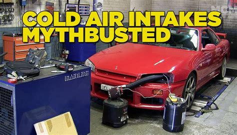 do car induction kits work cold air intakes mythbusted turbo