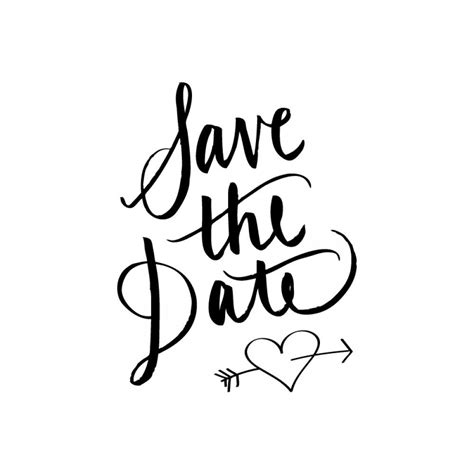 Save The Date Calligraphy Rubber St Wed Pinterest Letters Wedding Bells And Wedding Save The Date Rubber St Template