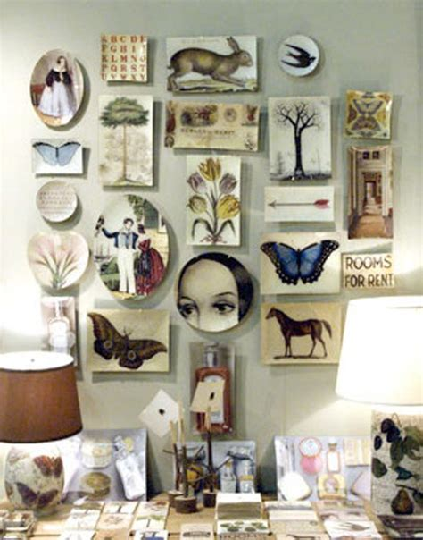 Decoupage Wall Ideas - items by designbird derian