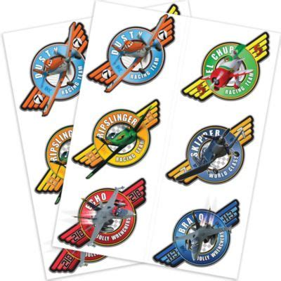 tattoo equipment on planes colorful planes tattoos 2 sheets party city