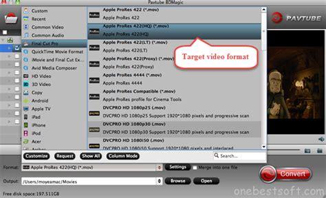 final cut pro video formats edit blu ray in final cut pro getting closer to my