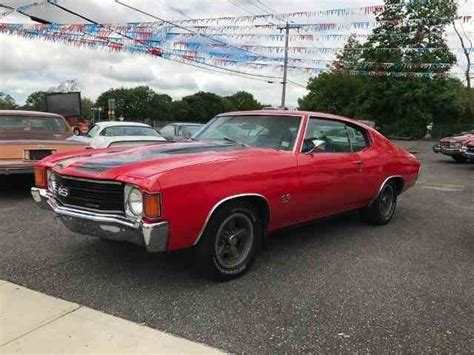 1972 chevrolet ss 1972 chevrolet chevelle ss for sale on classiccars