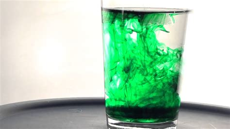 food coloring in water 1080p of green food coloring in water