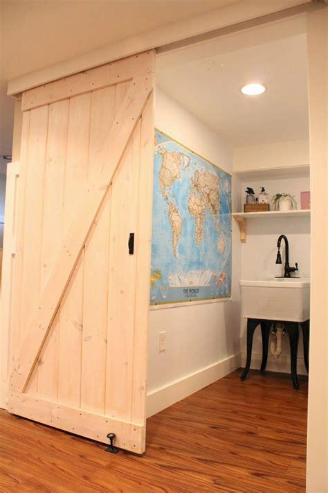 How To Make Barn Door Track How To Build A Barn Door Track Doors And Houzz