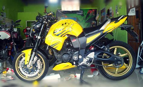 Indonesia Modifikasi Motor by Top Modifikasi Motor Byson Terbaru Modifikasi Motor