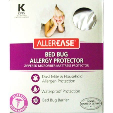 allerease bed bug allergy protection mattress protector walmartcom