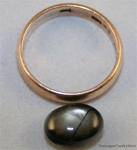 Black Sapphire 9 5ct black sapphire 8x11 oval 6 5ct gem sa45