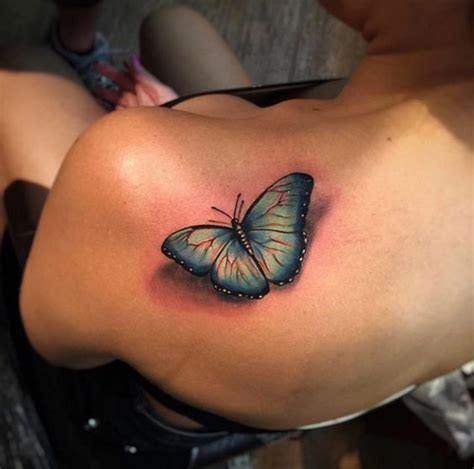 3d shoulder tattoo 35 breathtaking butterfly designs for