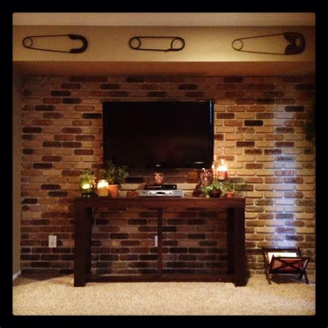 Brick Accent Wall | brick accent wall diy diy pinterest