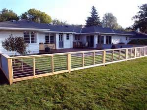 gardening landscaping install a modern style fence how