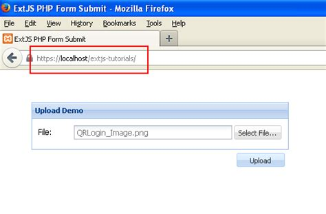 tutorial php extjs extjs 4 file upload exle using php techzoo
