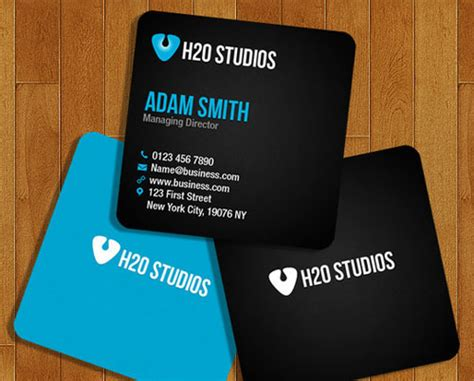 Mini Business Cards Template 30 fresh collection of free business card photoshop psd