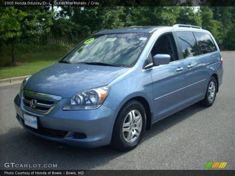 2005 Honda Odyssey Exl by 2005 Honda Odyssey Ex L In Mist Metallic Photo No