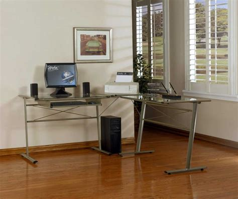 techni mobili l shaped glass computer desk techni mobili desks default name flash furniture l shaped