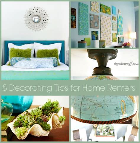 Decorating Ideas For Renters 5 Easy Non Permanent Decorating Tips For Renters Home