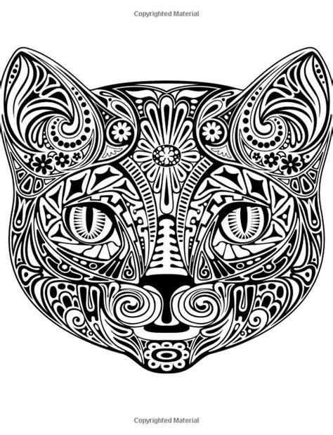 african cats coloring pages 고양이 컬러링북 도안 색칠공부 프린트해서 사용하세요 네이버 블로그