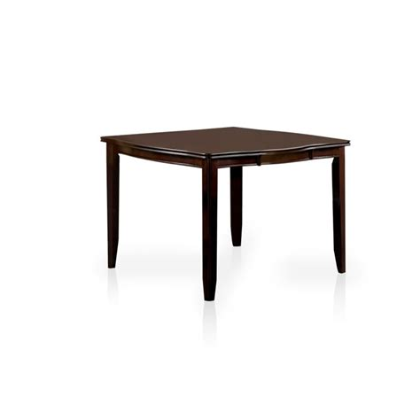 furniture of america rosewood counter height dining table