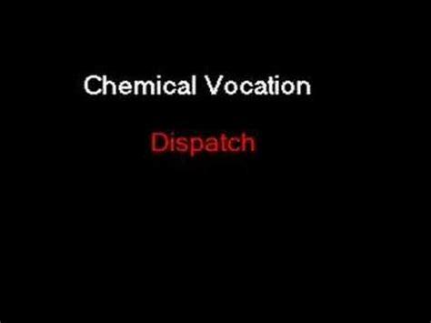 lyrics dispatch chemical vocation dispatch lyrics