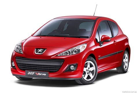 peugeot europe peugeot 207 verve range expanded for europe photos 1 of 3