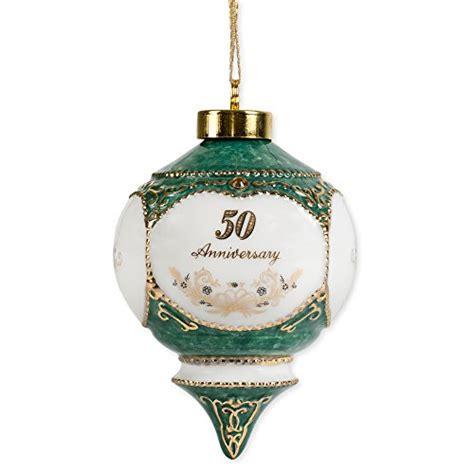 Happy 50th Wedding Anniversary Jewel Victorian 4.5 Inch