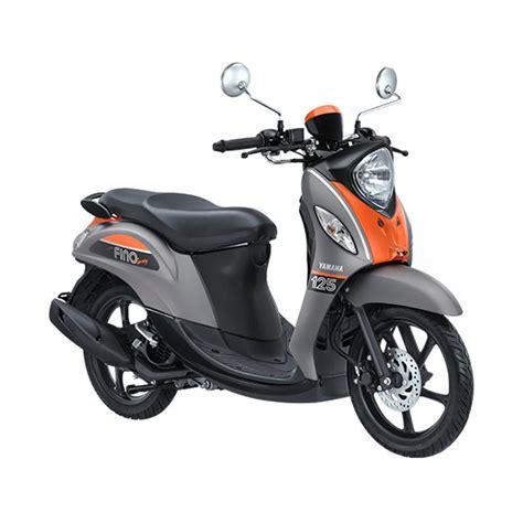 Yamaha New Fino 125 Sporty jual yamaha new fino 125 sporty sepeda motor grey