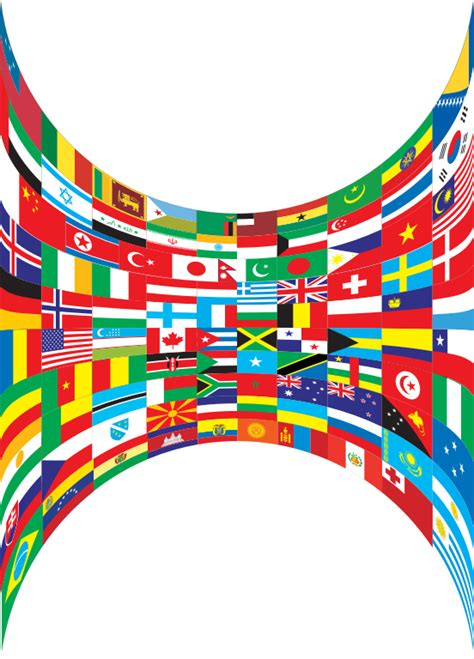 flags of the world download png clipart world flags perspective
