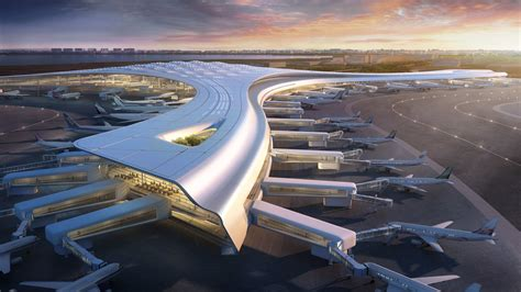 Romantic Designs by Dlc New Airport Design Competition Corgan