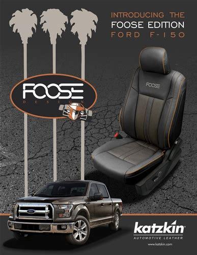 ford f150 xlt leather seats ford f150 crew cab xlt katzkin foose edition leather