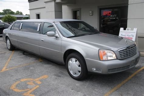 cadillac dts 2000 for sale 2000 cadillac dts limo for sale